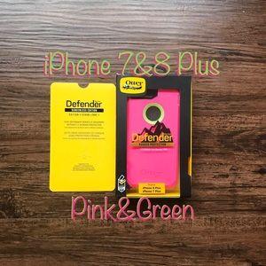 * OtterBox Defender Case for iPhone 7 & 8 Plus